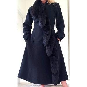 A Trigere Coat